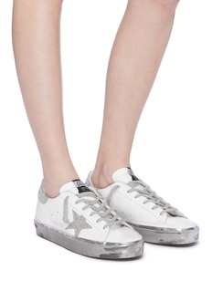 Golden Goose 'Hi Star' leather flatform sneakers