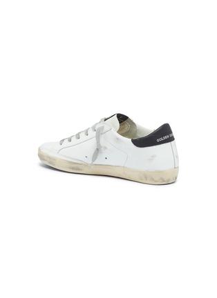 - Golden Goose - 'Superstar' slogan star print leather sneakers