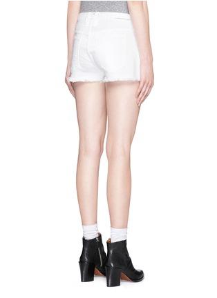Back View - Click To Enlarge - CURRENT/ELLIOTT - 'The Boyfriend' cutoff denim shorts