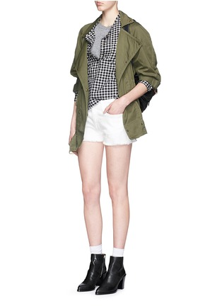 Figure View - Click To Enlarge - Current/Elliott - 'The Boyfriend' cutoff denim shorts
