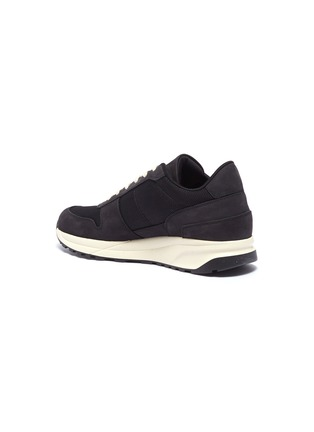 - Common Projects - 'Track Vintage' leather panel mesh sneakers