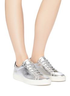 Common Projects 'Retro Low' metallic leather sneakers