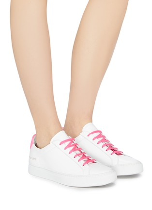 38bda1d30037 Figure View - Click To Enlarge - Common Projects -  Retro Low Fluo  neon