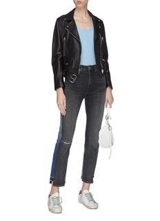 rag & bone/JEAN 'Nina' panelled patchwork jeans