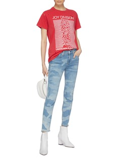 rag & bone/JEAN 'Cate' camouflage print skinny jeans