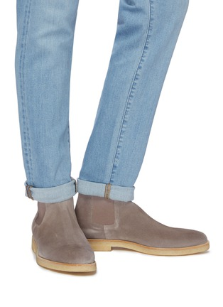 c3fb9d476ca4 Common Projects. Suede Chelsea boots