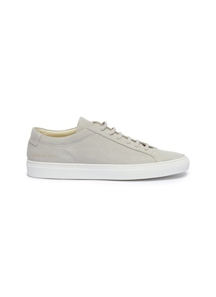 Main View - Click To Enlarge - COMMON PROJECTS - 'Original Achilles' suede sneakers