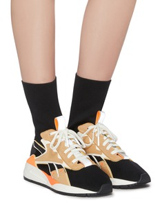 Victoria Beckham x Reebok 'Bolton' panelled sock knit high top sneakers