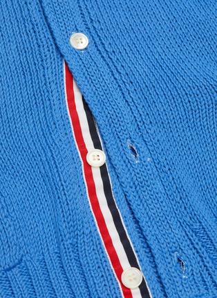 - Thom Browne - Whale stripe intarsia oversized cardigan
