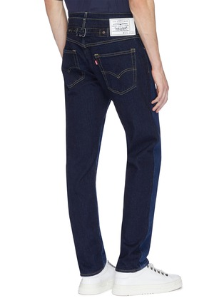 Back View - Click To Enlarge - Feng Chen Wang - x Levi's® layered waist colourblock jeans
