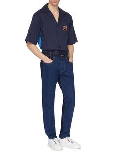 Feng Chen Wang x Levi's® layered waist colourblock jeans