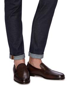 Santoni Leather loafers