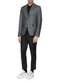 Prada 'Piuma' nylon fabric soft blazer