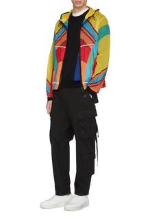 Moncler Genius x Craig Green 'Spinner' colourblock hooded ripstop jacket
