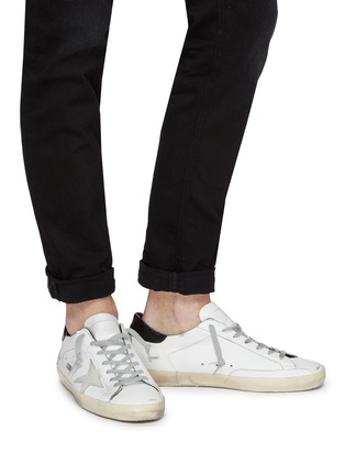 Figure View - Click To Enlarge - GOLDEN GOOSE - 'Superstar' leather sneakers