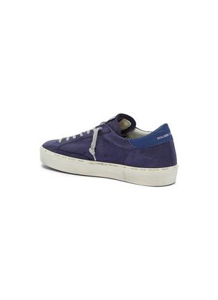 - Golden Goose Deluxe Brand - 'Hi Star' metallic colourblock leather flatform sneakers