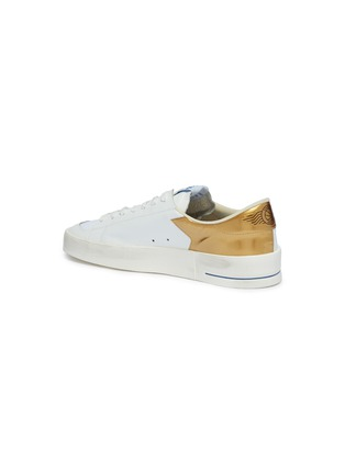 - Golden Goose - 'Stardan' mesh panel leather sneakers