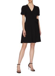 Diane von Furstenberg 'Zella' mini wrap dress