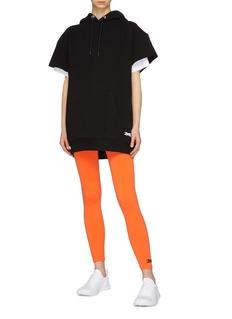 Victoria Beckham x Reebok logo embroidered performance leggings