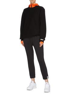 Victoria Beckham x Reebok logo embroidered sweatshirt