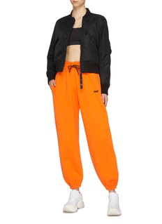 Victoria Beckham x Reebok logo embroidered jogging pants