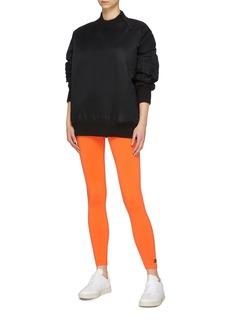 Victoria Beckham x Reebok zip shoulder bomber sweatshirt