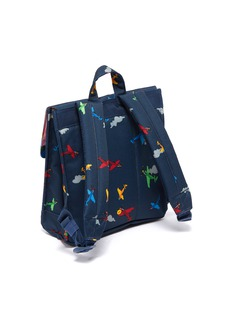 The Herschel Supply Co. Brand 'Survey' airplane print canvas 5.5L kids backpack