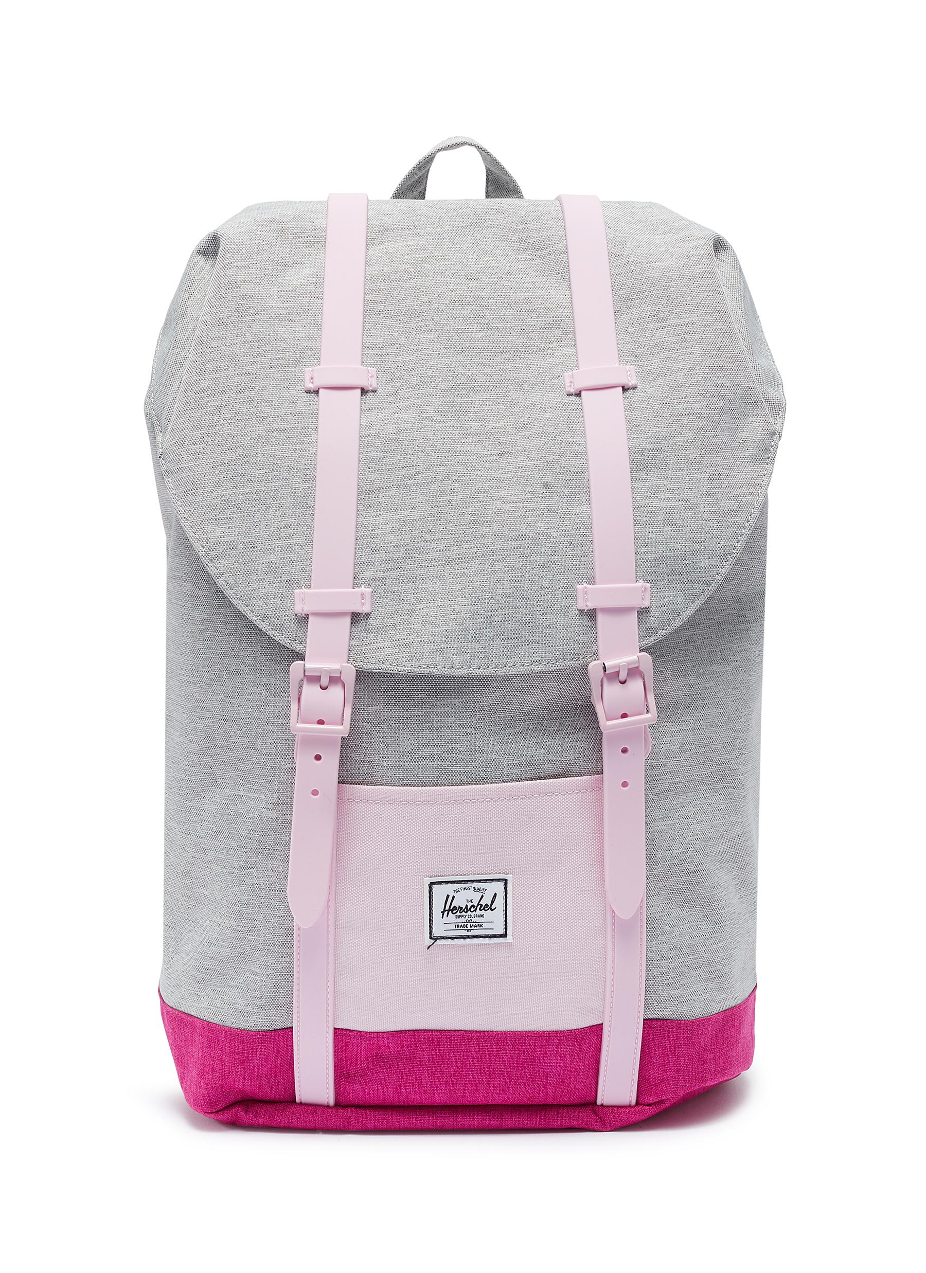 5b227875ea2c The Herschel Supply Co. Brand.  Retreat  colourblock canvas 14L youth  backpack