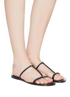 Valentino Rockstud strappy leather sandals