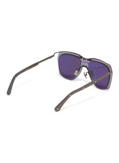 DYNE Layered lens metal aviator sunglasses