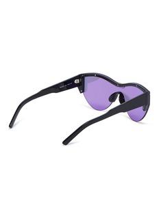 Balenciaga Mirror acetate cat eye sunglasses