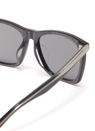 Detail View - Click To Enlarge - Balenciaga - Acetate oversized square sunglasses