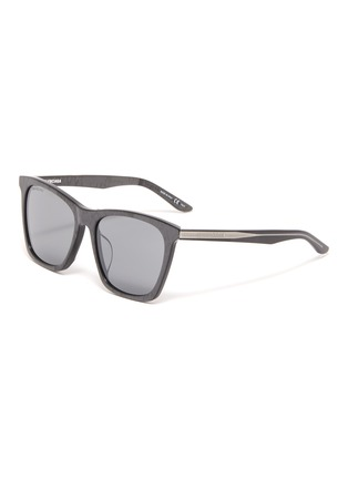 Main View - Click To Enlarge - BALENCIAGA - Acetate oversized square sunglasses