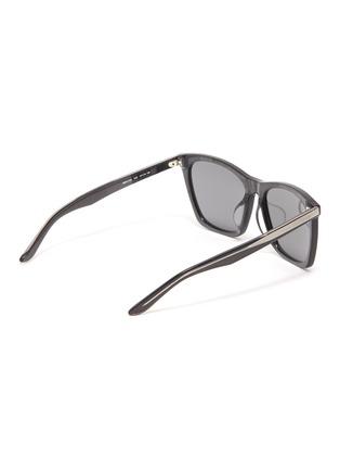 Figure View - Click To Enlarge - Balenciaga - Acetate oversized square sunglasses