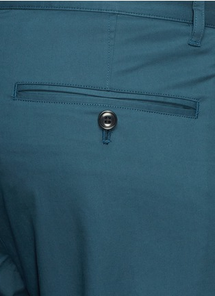 Detail View - Click To Enlarge - THEORY - 'Zaine' cotton blend twill pants
