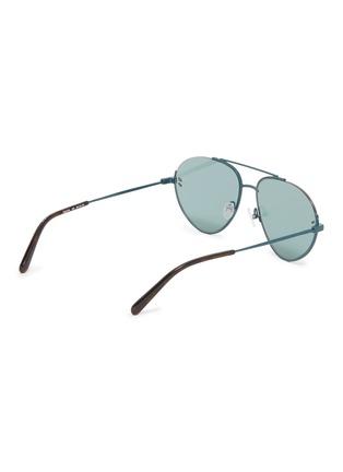 Figure View - Click To Enlarge - Stella McCartney - Cutout metal aviator sunglasses