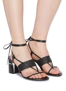 3.1 Phillip Lim 'Drum' strappy leather sandals