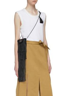 3.1 Phillip Lim 'Lola' fringe leather pouch