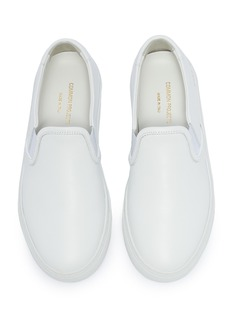Common Projects Leather kids skate slip-ons