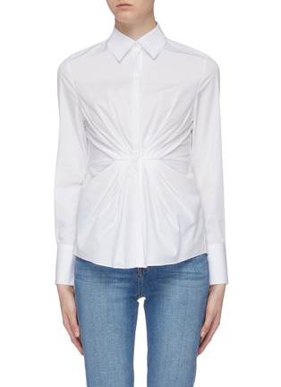 Main View - Click To Enlarge - EQUIL - Pleated waist shirt