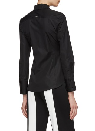 Back View - Click To Enlarge - EQUIL - Pleated waist shirt