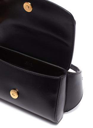 Detail View - Click To Enlarge - CHLOÉ - 'Chloé C' suede panel leather bum bag