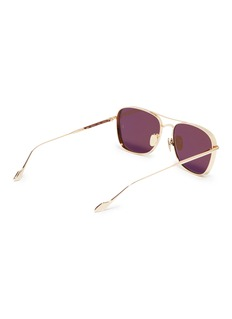 Sunday Somewhere 'Jagger' spoiler metal aviator sunglasses