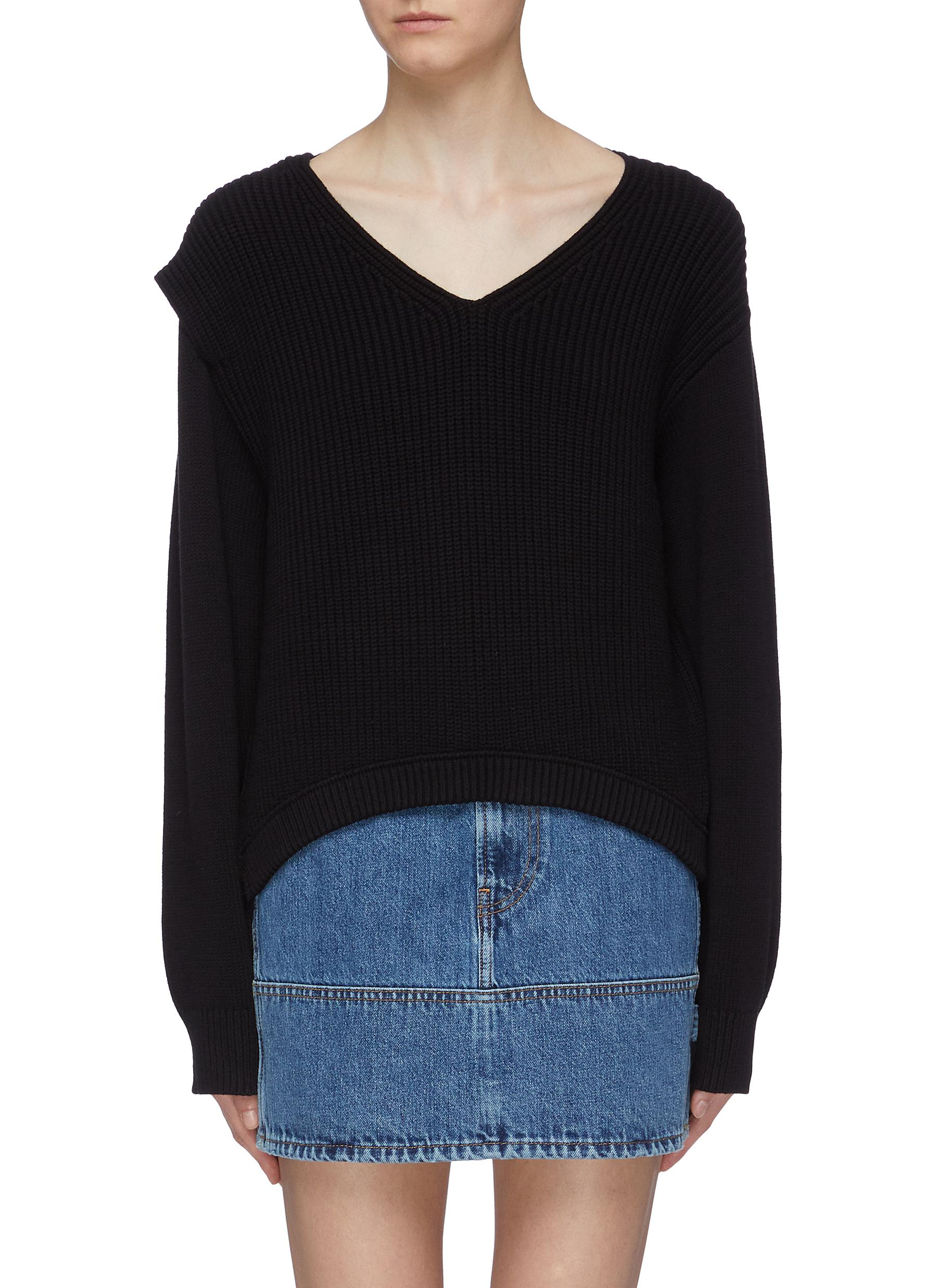 Utility V-neck sweater by Alexanderwang.T