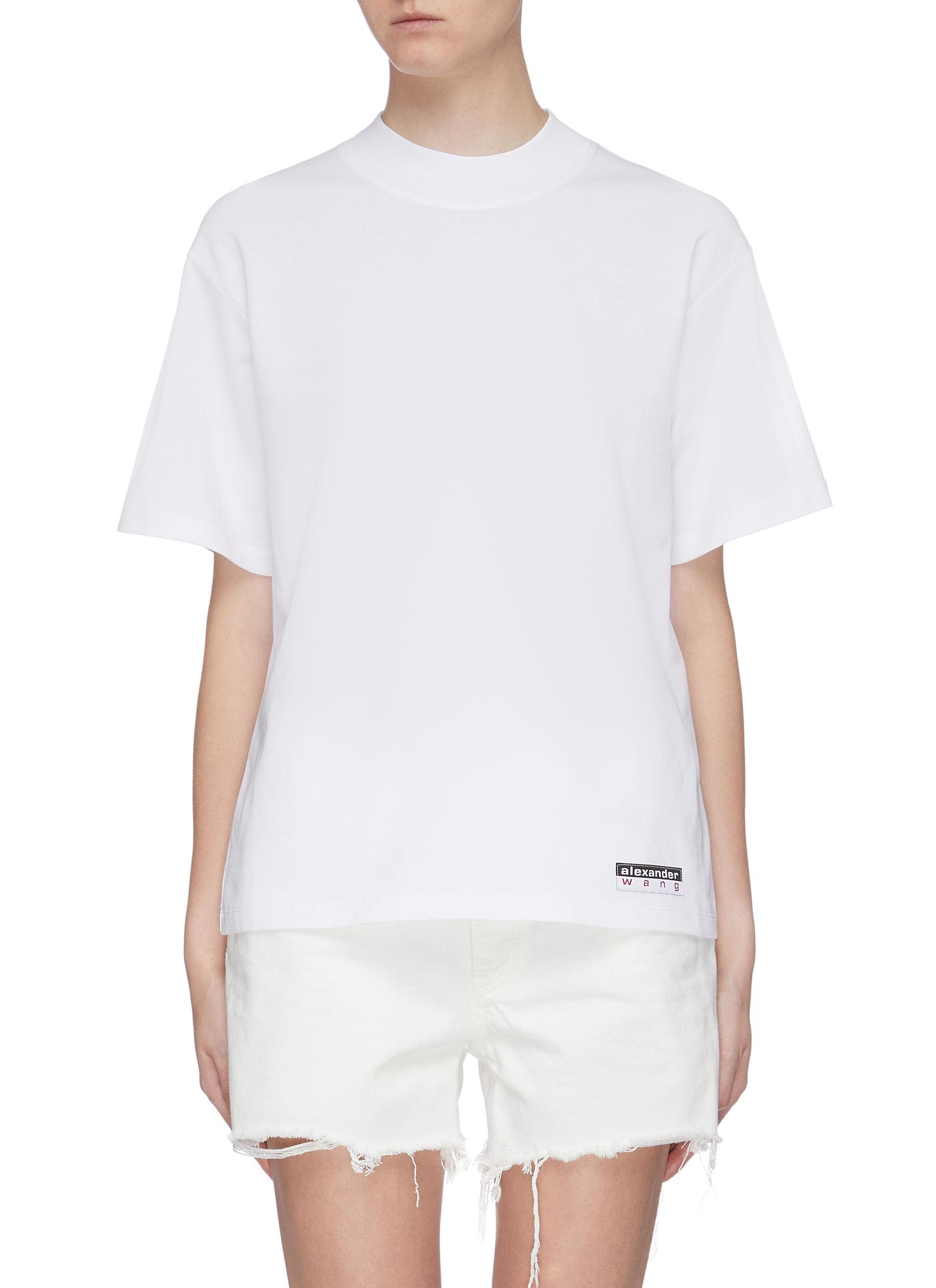 Wash + Go logo tag oversized T-shirt by Alexanderwang.T