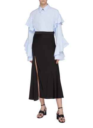 Figure View - Click To Enlarge - ELLERY - 'Voltaire' ruffle sleeve shirt