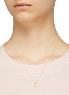 SARAH & SEBASTIAN 'Stellar' diamond pendant 10k yellow gold necklace
