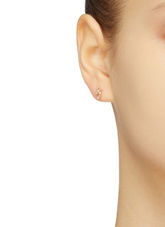 SARAH & SEBASTIAN 'Tiny Cluster' diamond stud earrings
