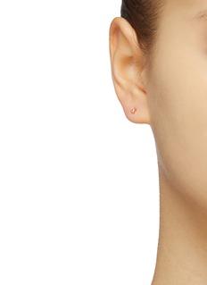 SARAH & SEBASTIAN 'Sepal' diamond triangle stud earrings