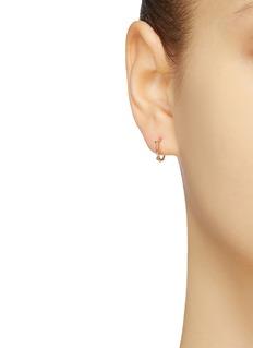SARAH & SEBASTIAN 'Rose' 9k yellow gold hoop earrings